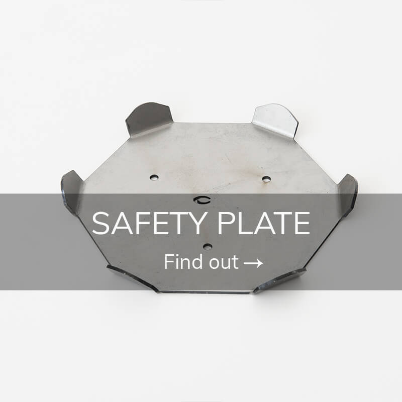 Pole Dancing Accessories safety plate