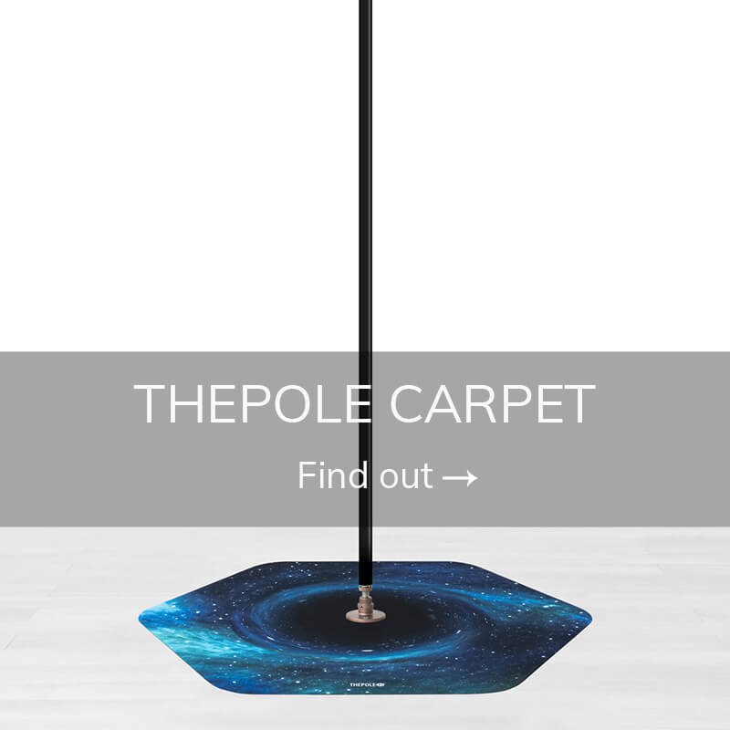 Pole dancing accessories thepole carpet