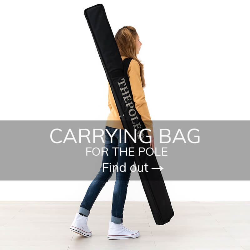 Pole dance stage free-standing pole bag
