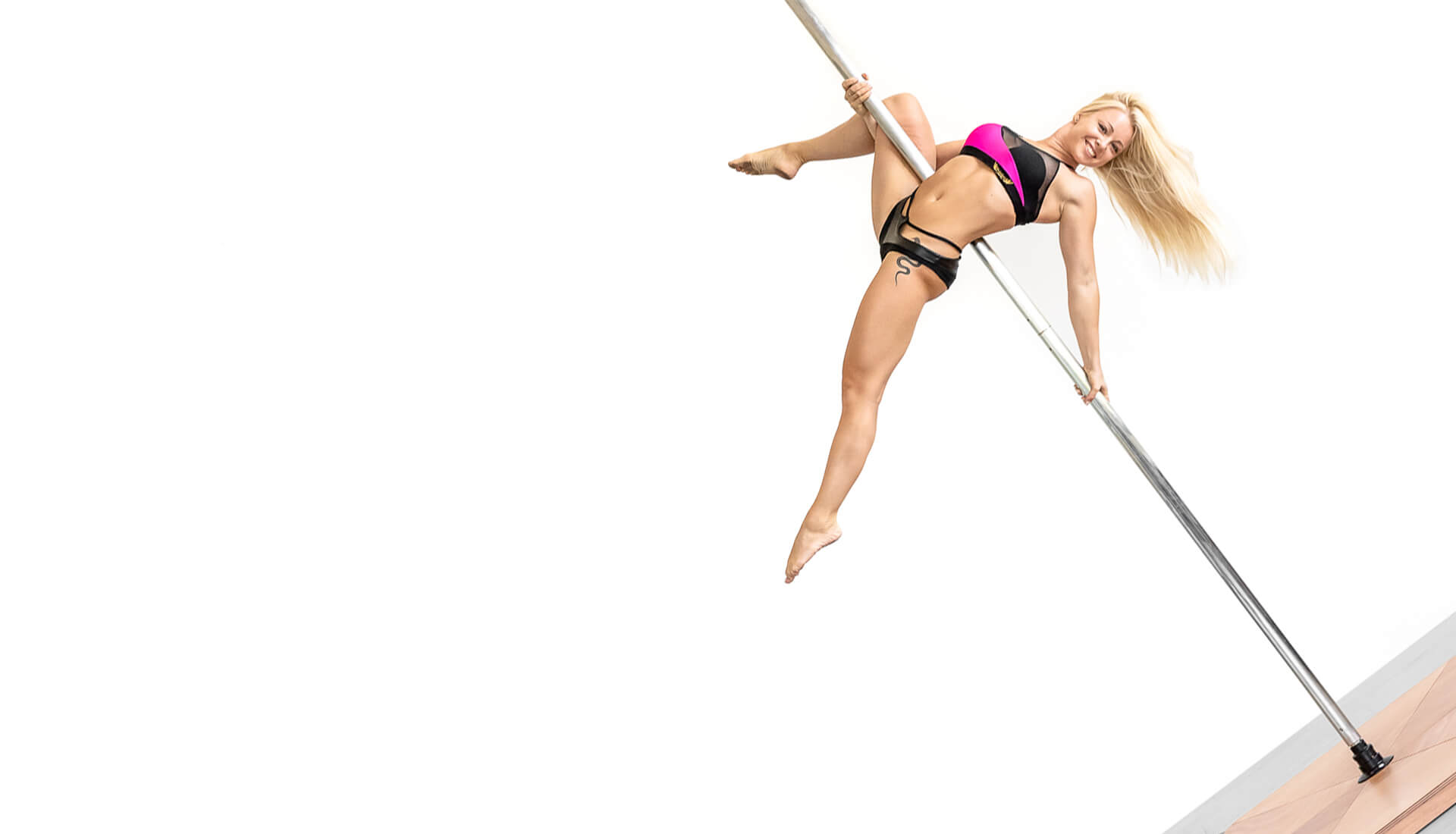 Portable Pole for Pole Dance inox