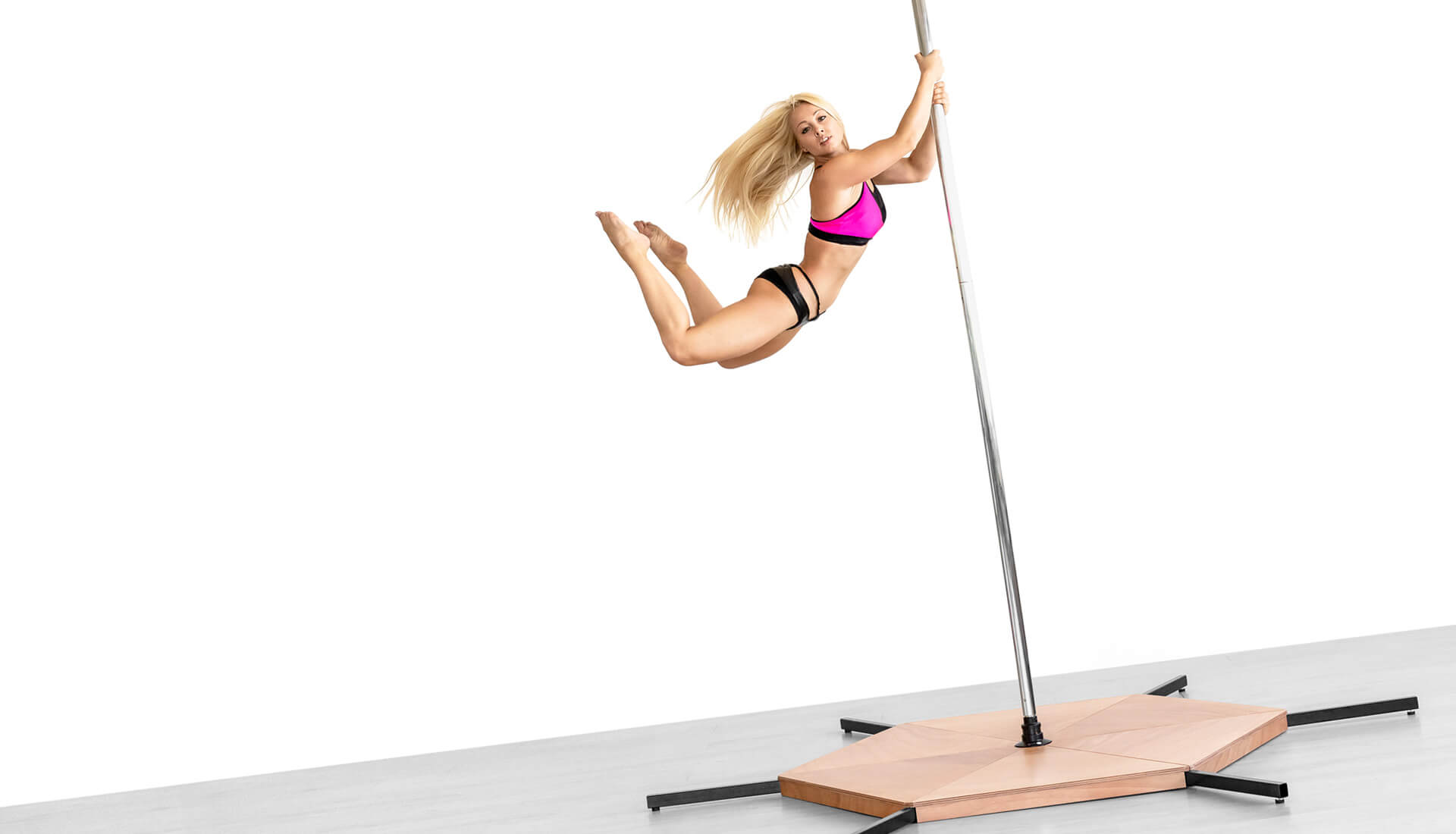 Stand-Alone dance pole